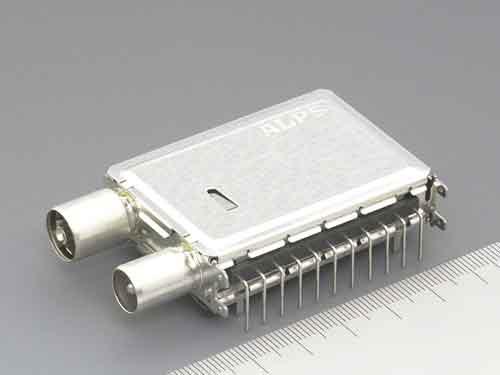 alps tda系列地面数字电视调谐器兼容欧美两种模式
